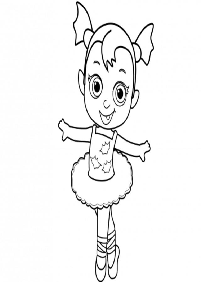 Dibujos Para Colorear Vampirina Dibujos Para Colorear
