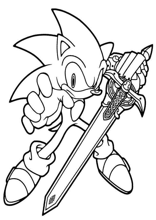 Dibujos Para Colorear Sonic Dibujos Para Colorear