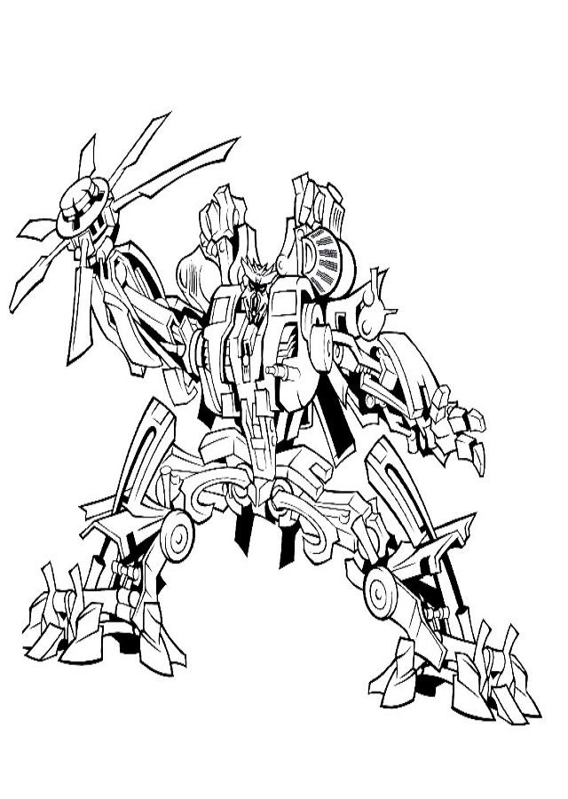 Dibujos para colorear Transformers - Dibujos para colorear