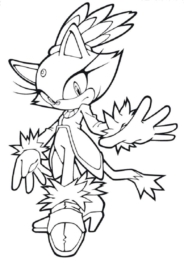 💠Dibujos para colorear Sonic - Dibujos para colorear