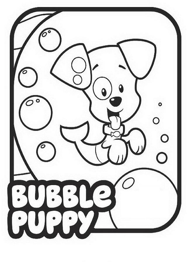 Cachorro Bubble es un cachorro juguetón y un poco bullicioso con cola de pez.