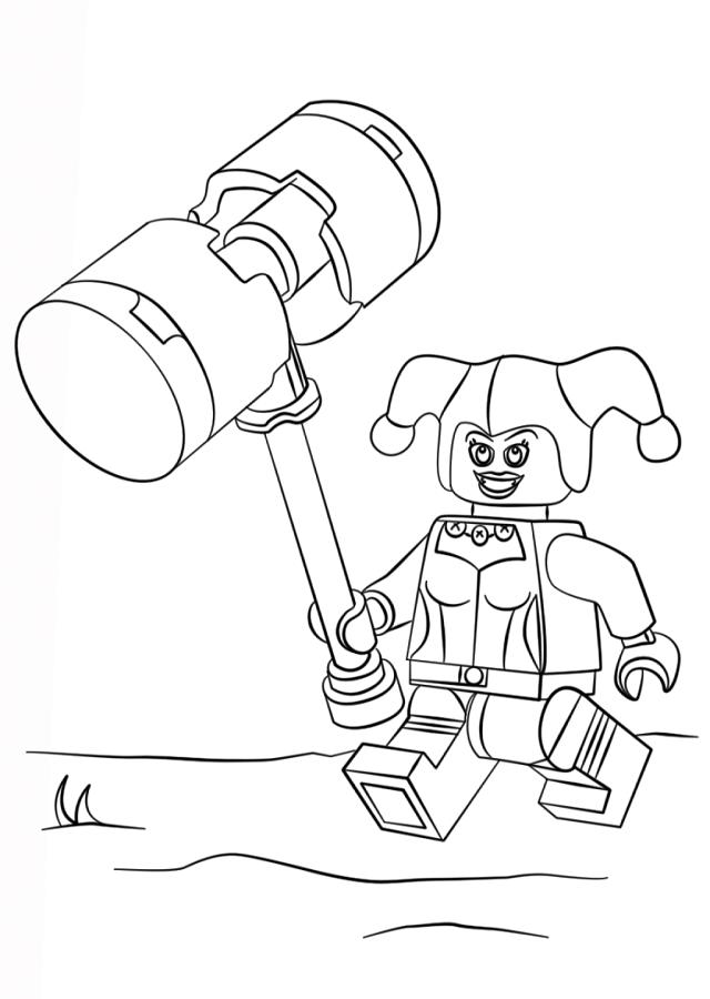Único Lego Dibujos Para Colorear Patrón - Dibujos Para Colorear En ...