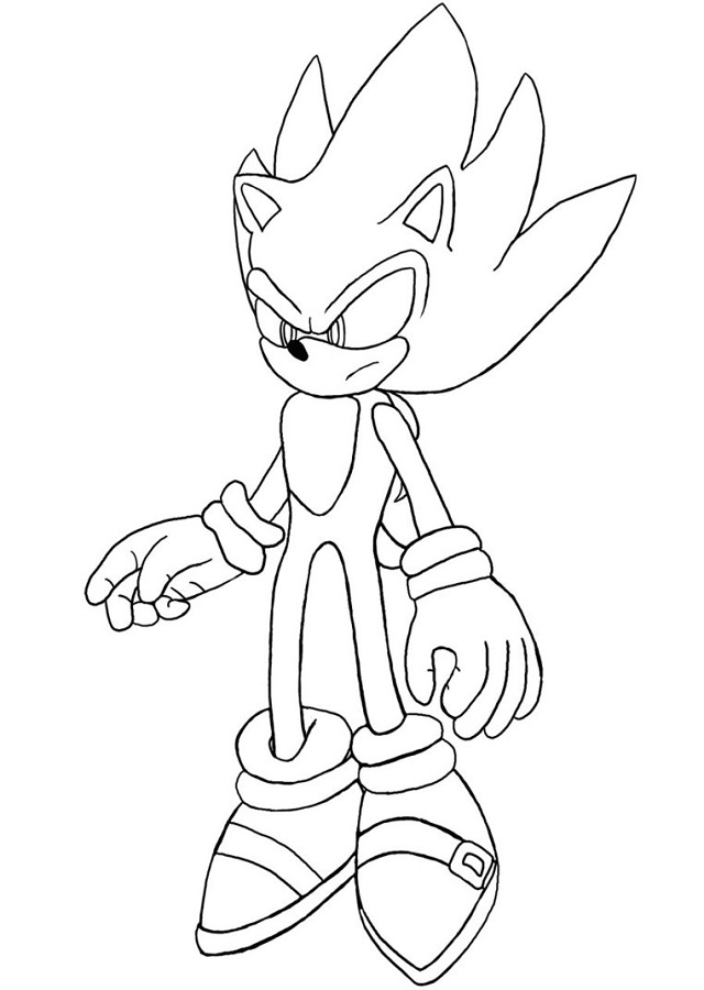 sonic silver and shadow coloring pages - dibujos para colorear sonic dibujos para colorear