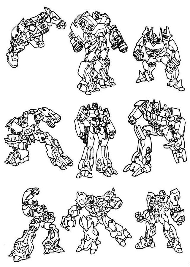 Dibujos Para Colorear Transformers Dibujos Para Colorear