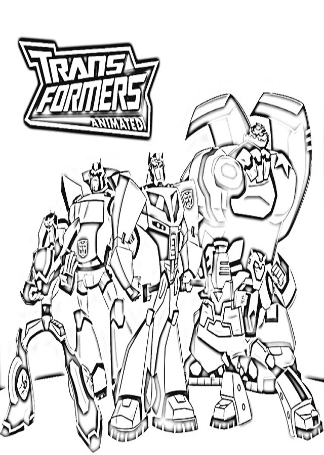 Transformers Para Colorear E Imprimir. free coloring pages for ...