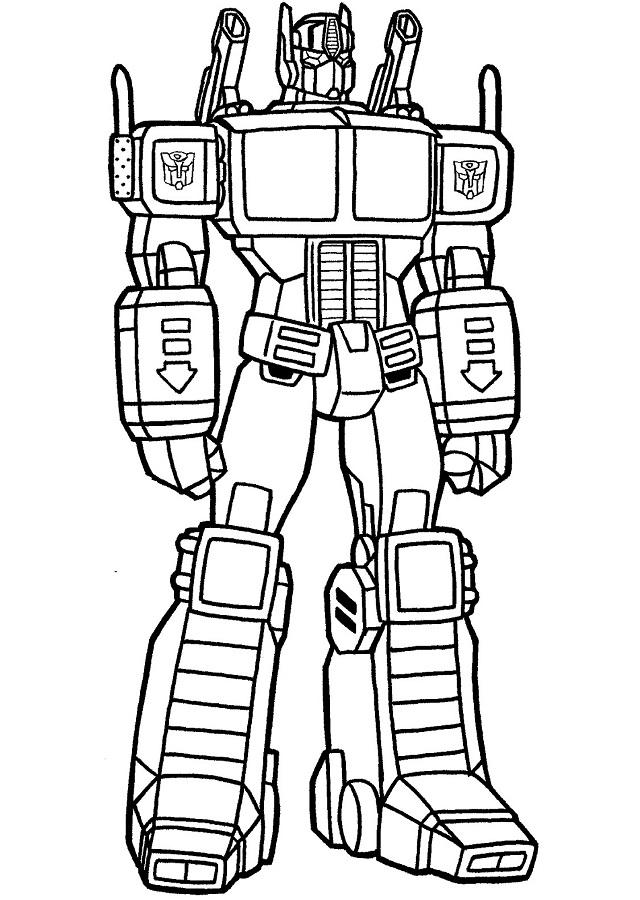 💠Dibujos para colorear Transformers - Dibujos para colorear
