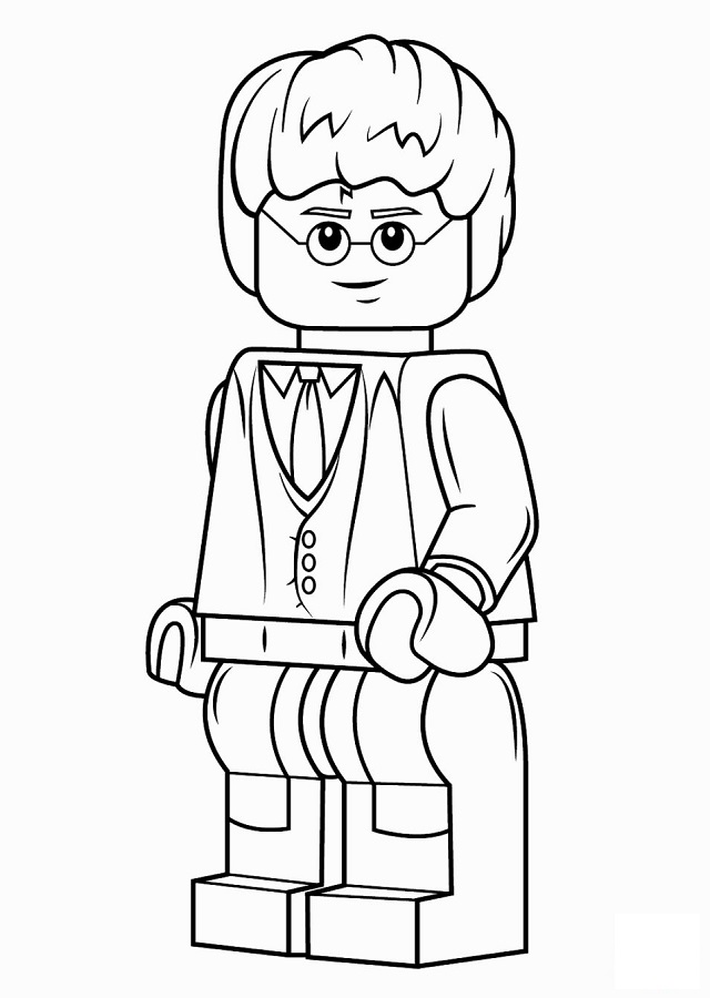Dibujos Para Colorear Lego Dibujos Para Colorear