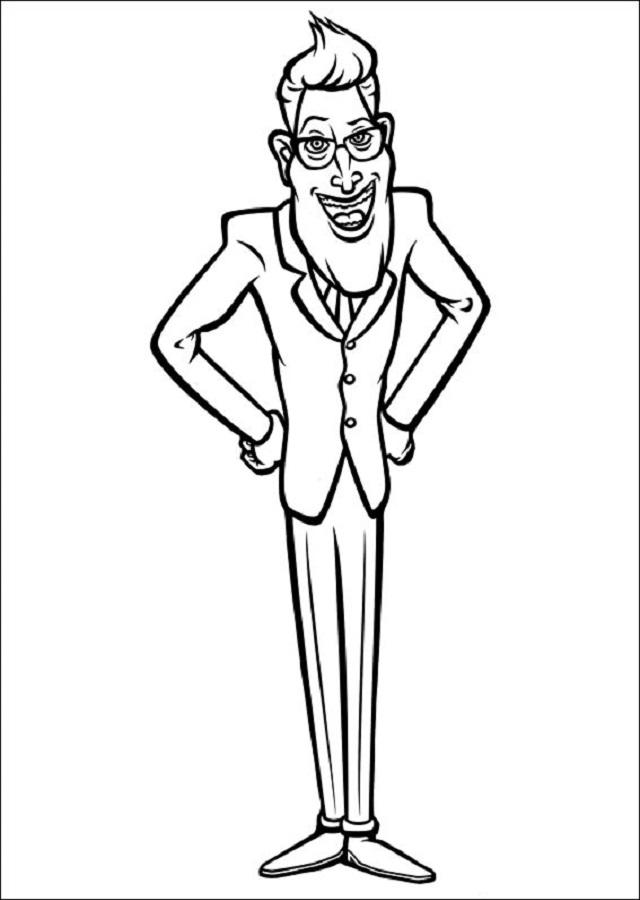 """El impulsivo y bastante tonto Presidente de los Estados Unidos que no quería ser recordado como """"El Presidente Que Estaba En Funciones Cuando El Mundo Llegó a su Fin"""", está de acuerdo con los extranjeros """"General Monger Monsters vs Aliens"""". Él es muy tolerante con el uso de las armas, disparando en repetidas ocasiones y sin sentido hacia la sonda alienígena original."""