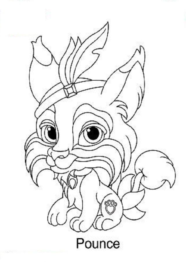 Dibujos Para Colorear Palace Pets Dibujos Para Colorear