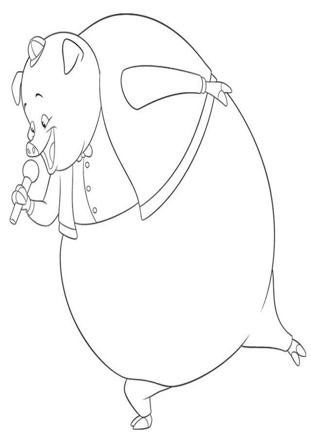 Es un cerdo grande y gordinflón, y también muy miedoso. Es uno de los mejores amigos de Chicken Little.