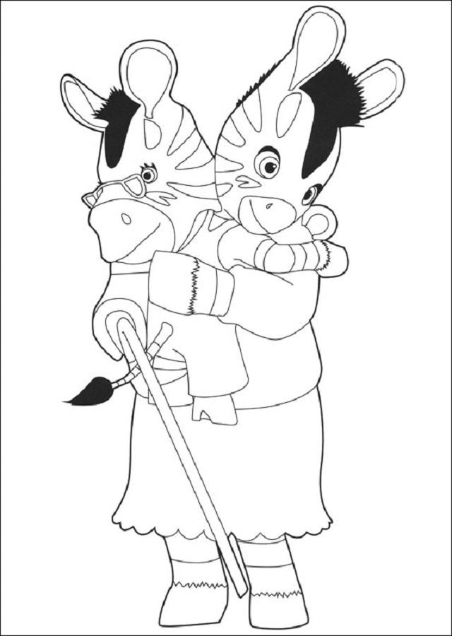 Dibujos Para Colorear Zou Disney Dibujos Para Colorear