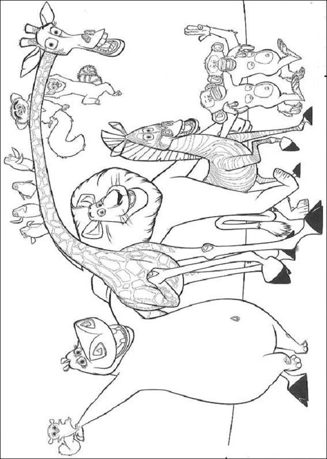 personajes pelicula madagascar