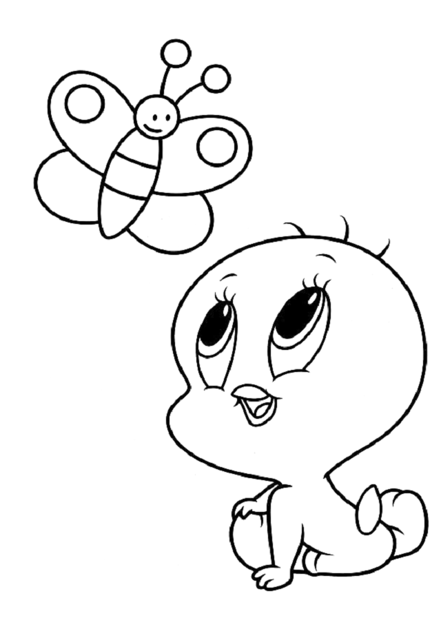 Dibujos Para Colorear Looney Tunes Dibujos Para Colorear