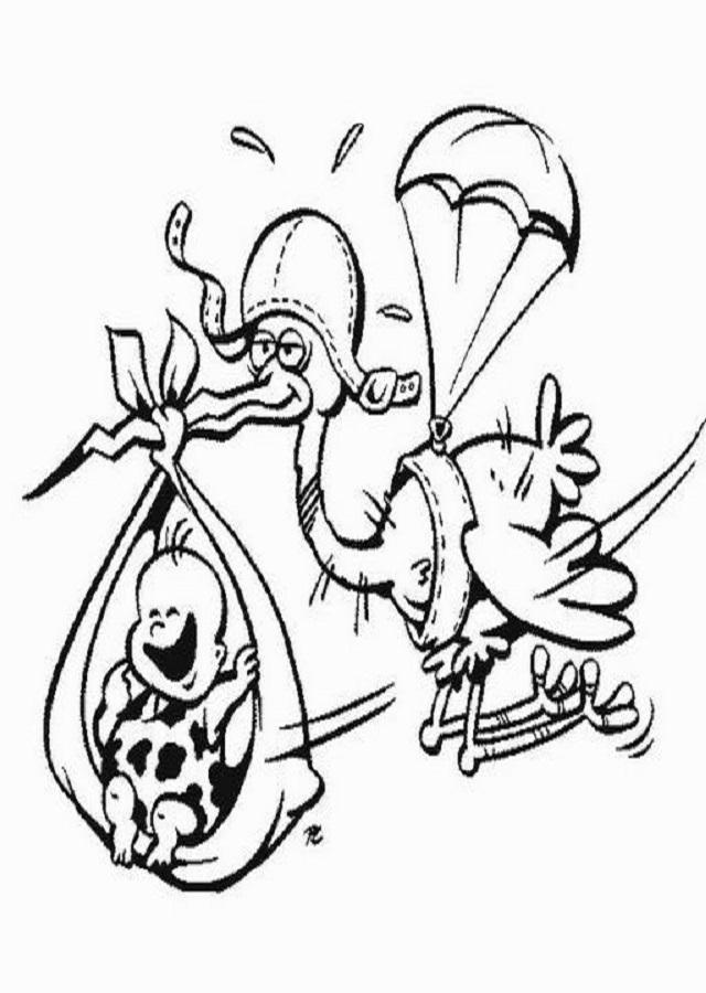 Dibujos Ciguenas Para Colorear Disney Dibujos Para Colorear