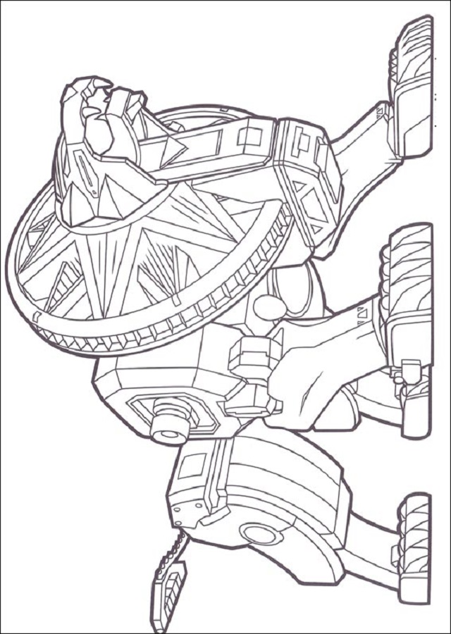 Dibujos Para Colorear Power Rangers Dibujos Para Colorear