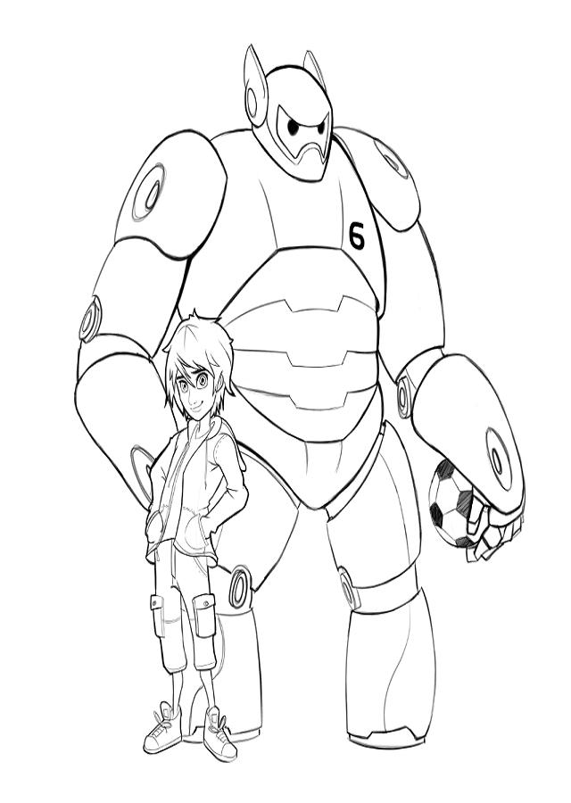Dibujos Para Colorear Big Hero 6 Dibujos Para Colorear