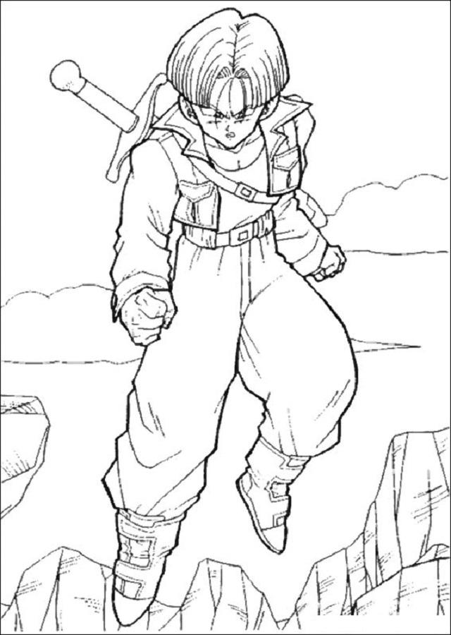 Dibujos Para Colorear Dragon Ball Z Dibujosparacolorear Eu