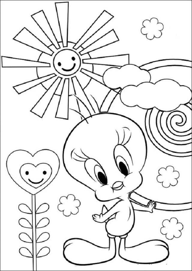 piolin pintar copia dibujos para colorear