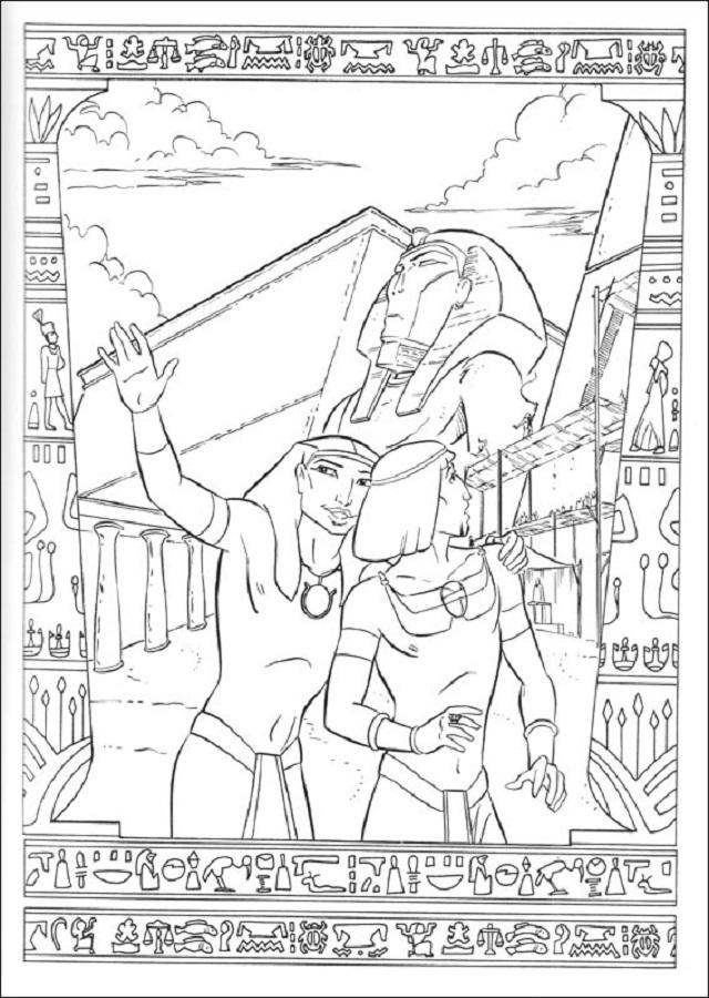 Dibujos Para Colorear El Principie De Egipto Dibujos Para Colorear