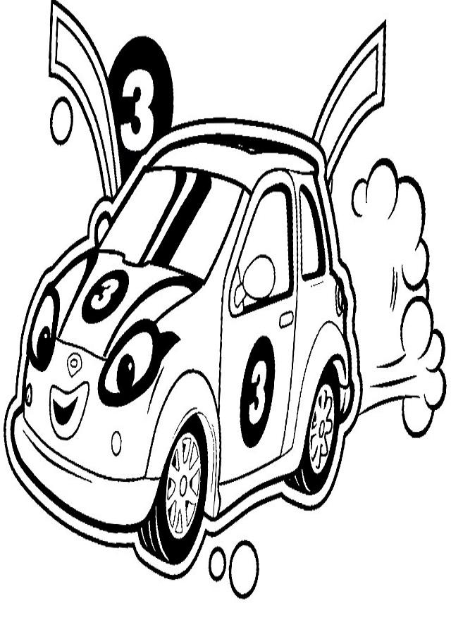 Dibujos-para-colorear-Roary-el-carrito-veloz-para-desarrollar-la-generacilfn