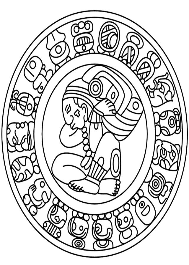 calendario-maya-dibujo-para-colorear