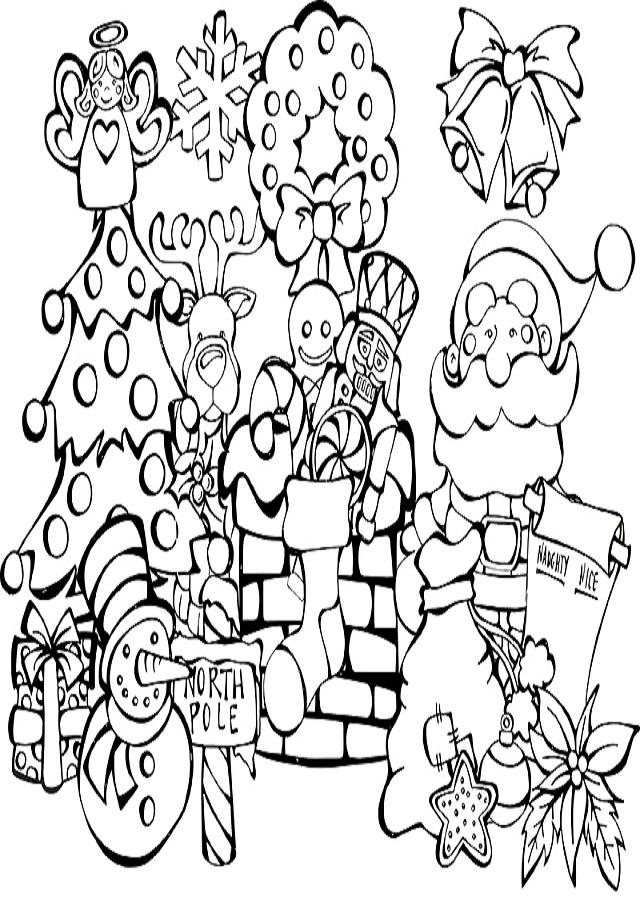 dibujos-para-pintar-merry-christmas