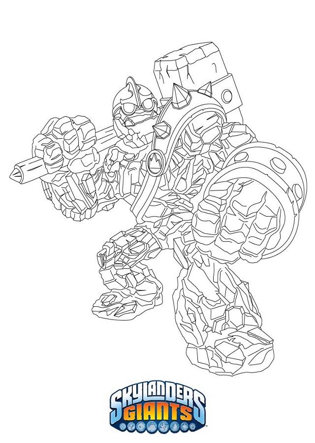 dibujos-para-colorear-Skylanders-Academy