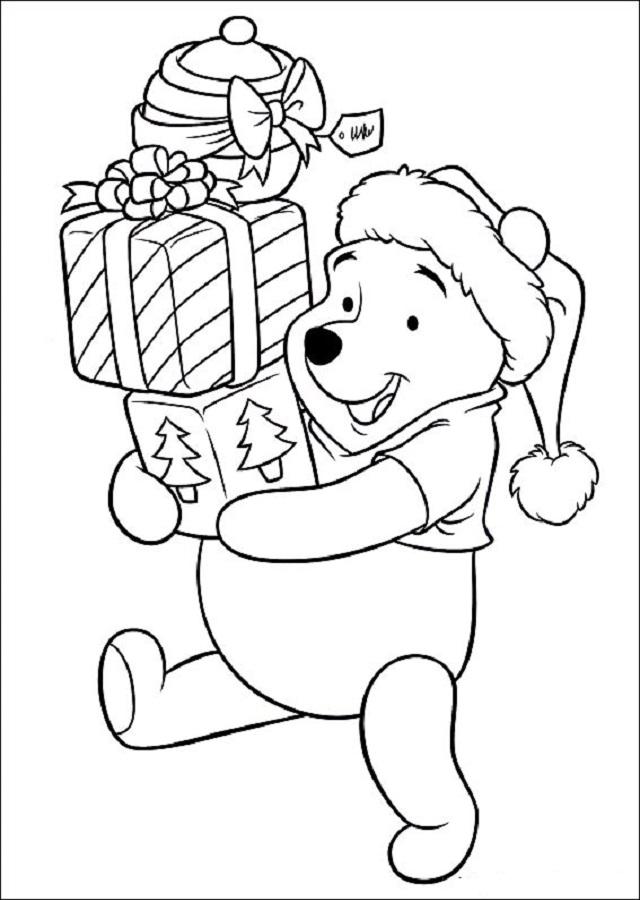 Dibujos Para Colorear Disney Navidad Dibujosparacolorear Eu