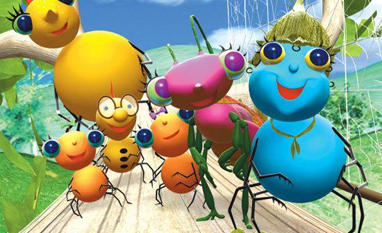 La historia habla de una araña llamada Miss Spider. Ella está casada y tiene ocho hijos, de los cuales son cinco arañas, y una libélula, una chinche y un escarabajo adoptados. Todos viven aventuras día a día que los llevan a aprender lecciones importantes de la vida.