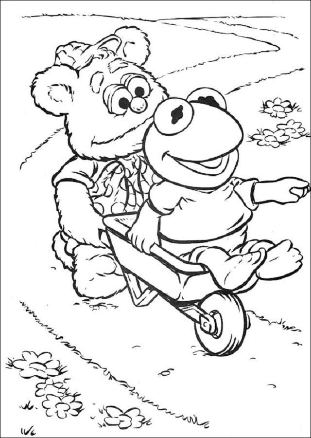 Dibujos para colorear Muppet Babies Dibujos para colorear