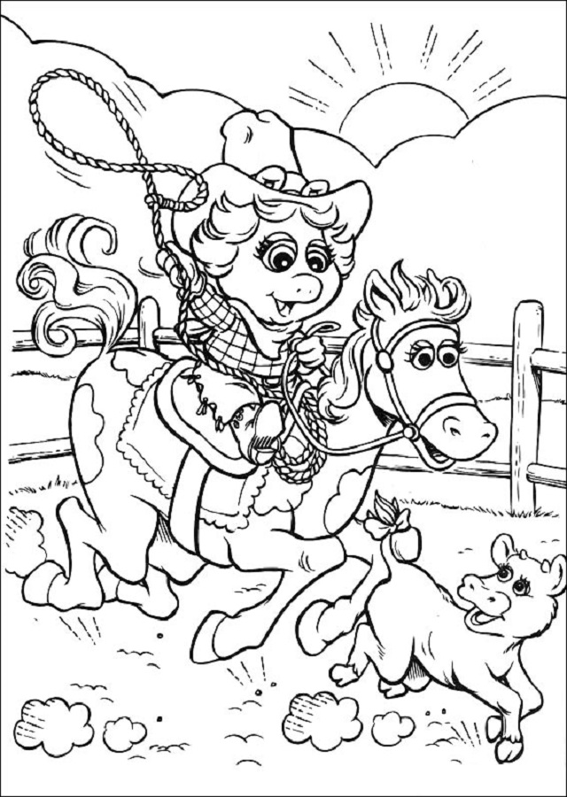 Dibujos para colorear Muppet Babies