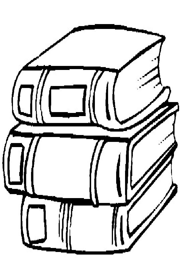 material-escolar-para-colorear - Dibujos para colorear