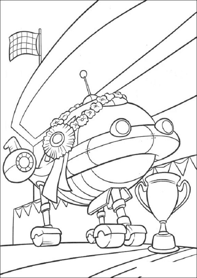 Es la nave de los mini Einsteins, pero a la vez tiene vida propia. Se comunica con sonidos musicales con los otros personajes. Además tiene múltiples accesorios que ayudan a los mini Einsteins a completar sus misiones.