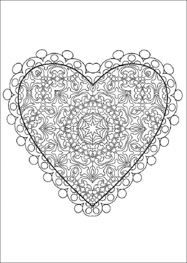 Dibujos Para Colorear San Valentin Dibujos Para Colorear