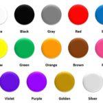 Dibujos los colores en Ingles