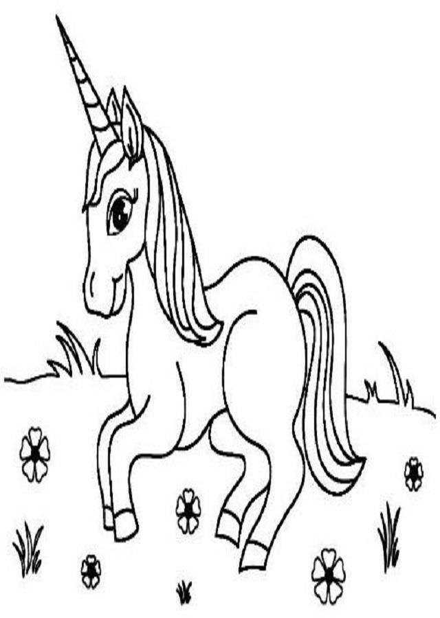 Dibujos Para Colorear Unicornio Dibujos Para Colorear