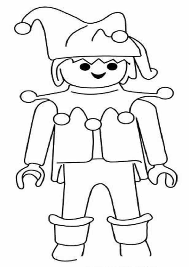 Dibujos Para Colorear Playmobil Dibujos Para Colorear