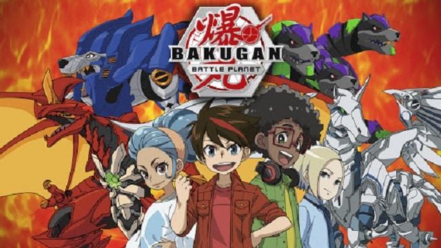 dibujos para colorear serie Bakugan