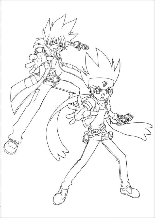 dibujos para colorear Bakugan