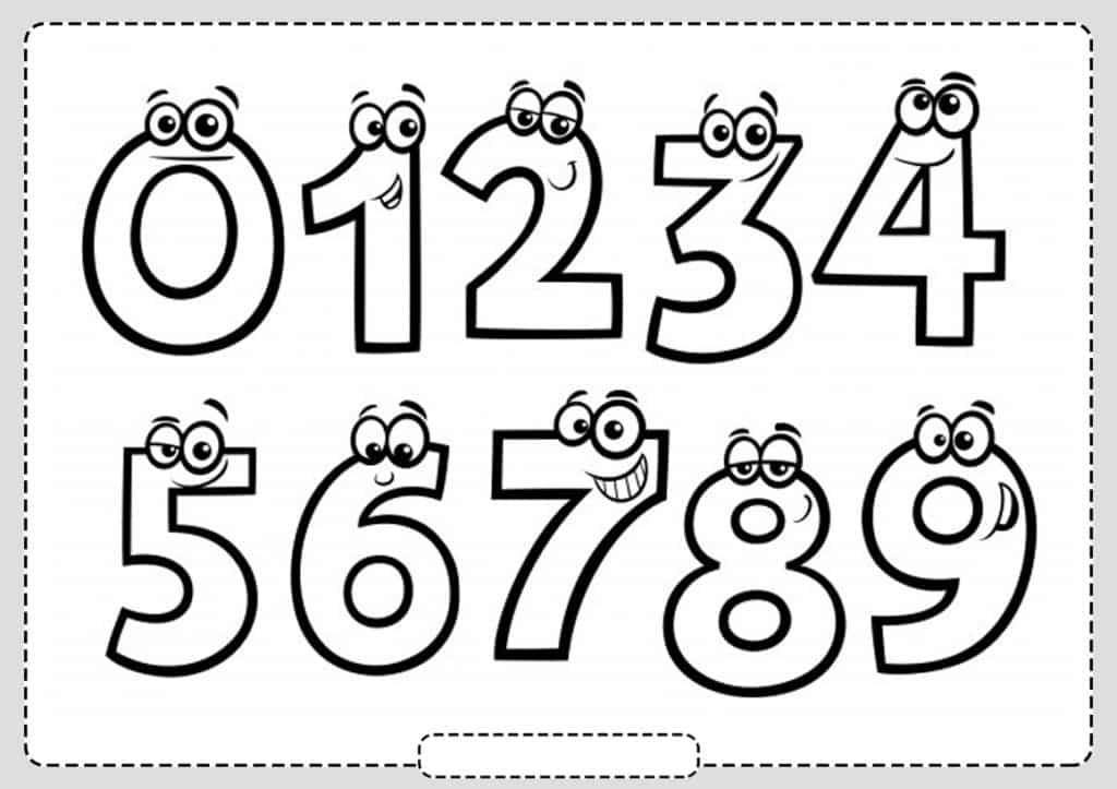 Colorear Numeros